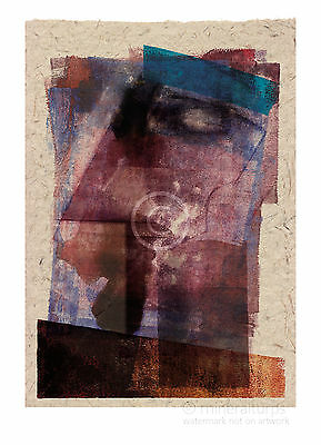 Profile 1 - Abstract portrait - A3 art print by Andre (2001) signed by artist