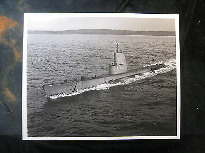 Vintage US Navy 8 x 10 Press Photo USS Bugara SS-331 1965 589