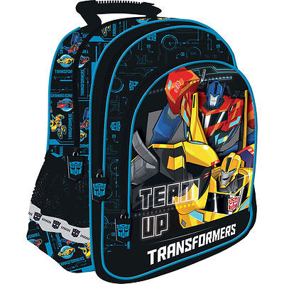 Transformers-Official Licensed Backpack Rucksack School Bag 15""