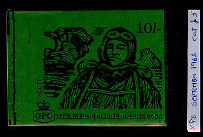 SG XP6, 10s BOOKLET.