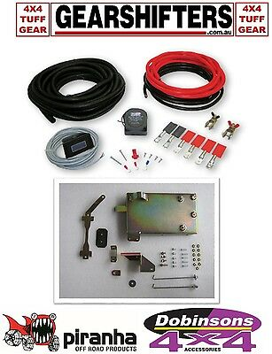 Dual Battery System Kit Inc Tray & Wiring Fits Toyota Hilux 3.0 Diesel 97 - 05