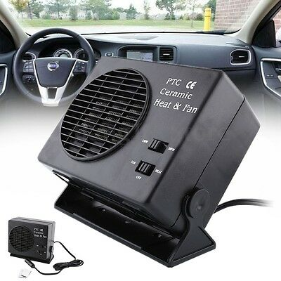 12V 150W 300W Electric Car Heater Fan Heating Travel Ceramic Defroster Demister