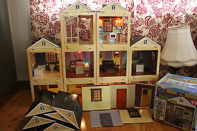 Jazwares Laura Ashley Room By Room Doll House Lights Sound 10