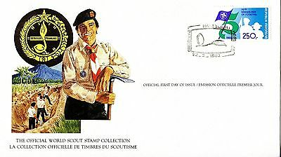 Indonesia 1983 Scout Card FDC