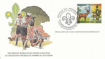 Paraguay 1982 Scout Card FDC