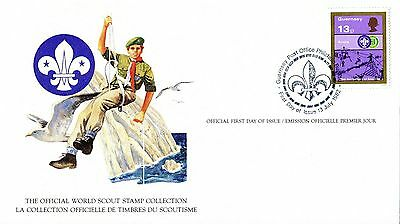 Guernsey 1982 Scout Card FDC