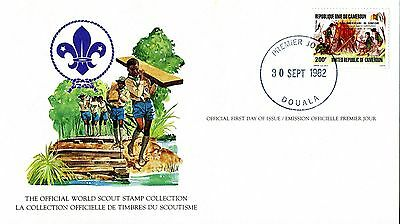 Cameroun 1982 Scout Card FDC