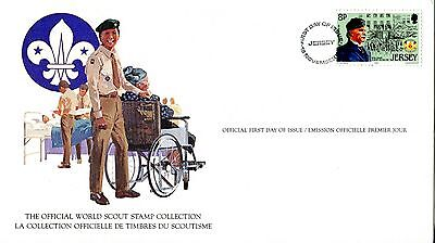 Jersey 1982 Scout Card FDC