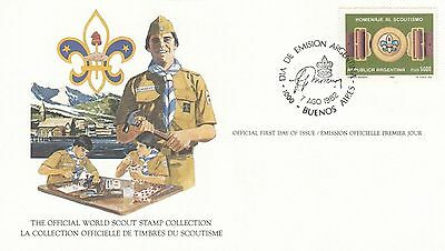 Argentina 1982 Scout Card FDC