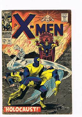 X-Men # 26  Holocaust of Kukulcan the Mayan God !   grade 3.0 scarce book !!