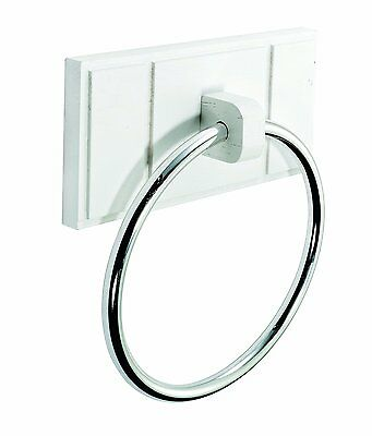 Croydex Maine Towel Ring Holder Stand Rack Hanger High Quality Concealed Fixings