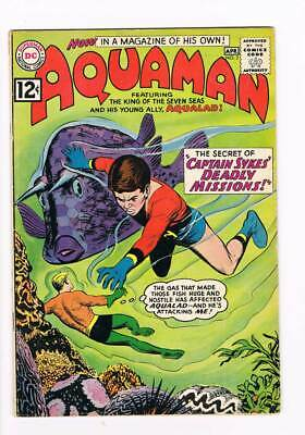 Aquaman # 2 Captain Sykes' Deadly Missions ! grade 4.5 scarce book !!