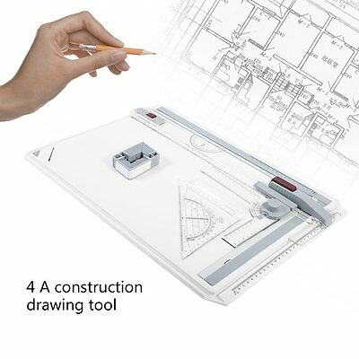 A3 A4 Rapid Portable College Drawing Board Office Graphic Designs Work Drafting