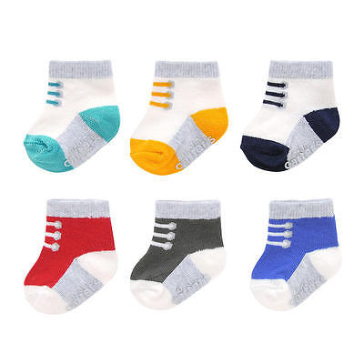 Carter's 6 Pairs of Socks 3-12 Months