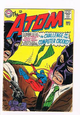 Atom # 20 Challenge of the Computer Crooks ! grade 3.0 scarce book !!