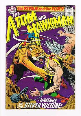 Atom # 39 Vengeance of the Silver Vulture ! grade 3.0 scarce book !!