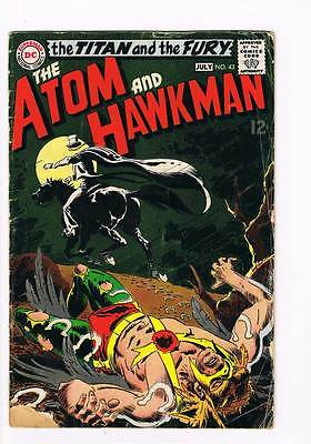 Atom # 43 Come to My Hanging ! grade 2.5 scarce book !!