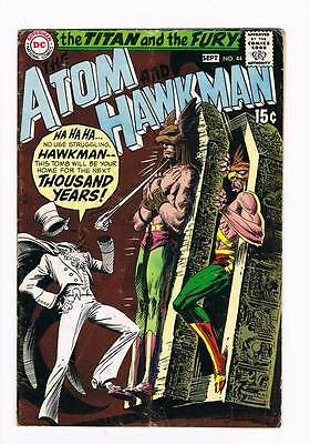 Atom # 44 The Ghost Laughs Last ! grade 4.0 scarce book !!