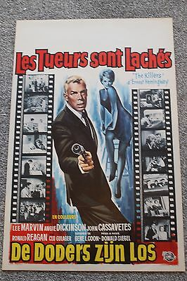 The Killers (Original 1964 Belgian Poster)