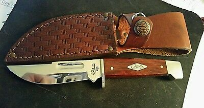 """Case XX Fixed Blade 3 1/2"""" Hunter w/ Rosewood Handles"""