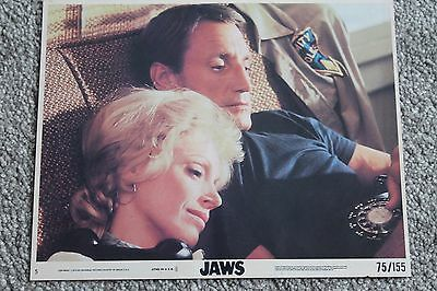 JAWS (ORIGINAL 1975 10 x 8 FOH LOBBY CARD NO. 5)