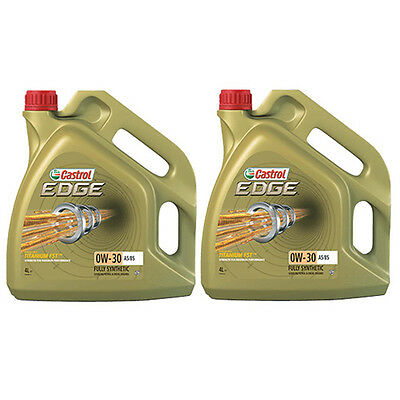 Castrol Edge 0W-30 FST A5/B5 Fully Synthetic 8 Litre Engine Oil