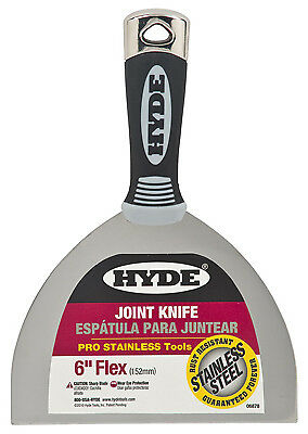 "Hyde Mfg. 06878 MAX Grip Pro Tools-6"" PRO JOINT KNIFE"