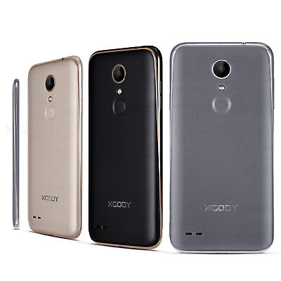 "XGODY Quad Core Android 6.0 Smartphone 3G Unlocked 5"" Mobile Phone Dual SIM GPS"