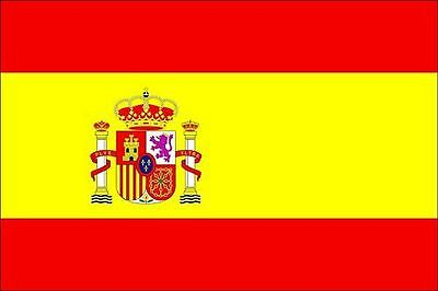 FLAG OF SPAIN FLAG SPANISH NATIONAL ESPANA PLATED EUROPEAN 5FT x 3FT NEW