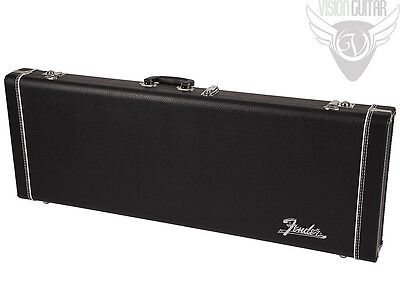 NEW! Genuine Fender Pro Series Black Stratocaster Telecaster Hardshell Case