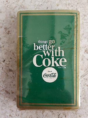 1960s RARE Things Go Better with Coke Playing Cards!!!