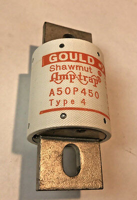Shawmut A50P450-4 450 Amp Fuses same as FWH-450 NEW