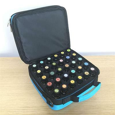 Essential Oil Carrying Case By Element Design - Large 42 Bottle Total Capacity