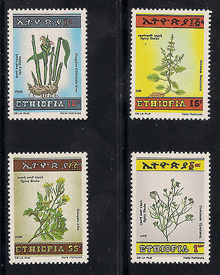 Ethiopia 1986 Spices and Herbs MNH