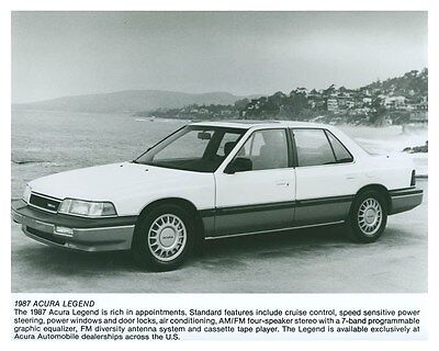 1987 Acura Legend ORIGINAL Factory Photo och5742