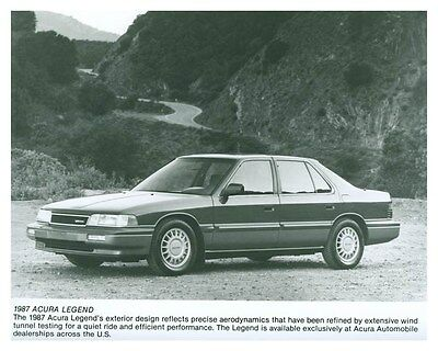 1987 Acura Legend ORIGINAL Factory Photo och5743