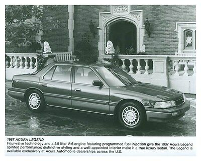 1987 Acura Legend ORIGINAL Factory Photo och5745
