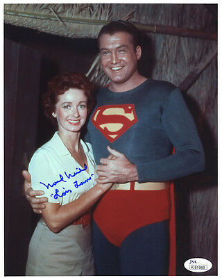 """(SSG) NOEL NEILL Signed 8X10 Color """"Superman"""" Photo with JSA (James Spence) COA"""