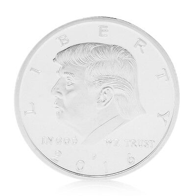 In God We Trust VS Donald Trump America President Commemorative Souvenir Coin