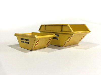 Pack Of 5 Laser Cut Rubbish Skips For Oo Gauge 1:76 Scale Model Railway Lx110-Oo