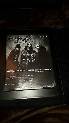 Da Youngstas The Aftermath Rare Original Promo Poster Ad Framed!