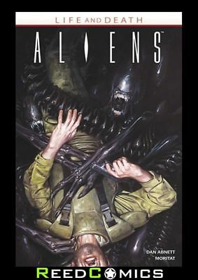 ALIENS LIFE AND DEATH GRAPHIC NOVEL New Paperback Collects Issues #1-4
