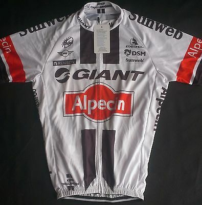 NEW 2017 Giant Pro Cycling Jersey With Team Logos
