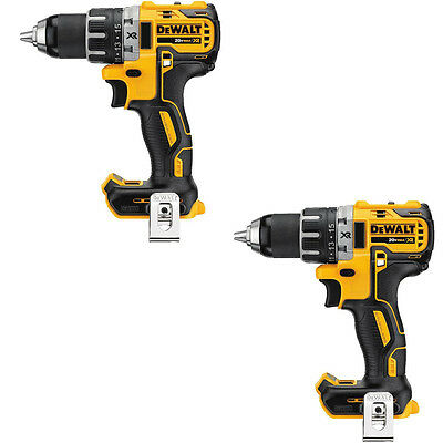 DEWALT DCD791BR 2 Pack 20V XR Li-Ion Brushless Compact Drill Driver TOOL ONLY