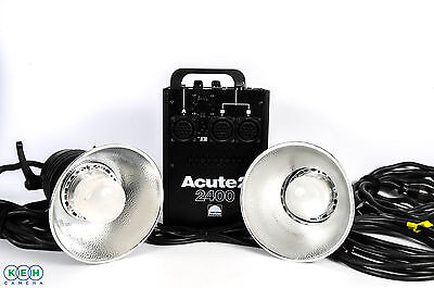 Profoto Acute2 2400 Pro Value Kit with 2 Acute D4 Heads and Zoom Reflectors