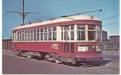 Postcard - Toronto Transit Commission Double-ended Car southbound on Spadina
