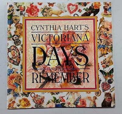 "Cynthia Hart~Victoriana~""days To Remember""~Diary Blank~Calendar~New Store Stock~"