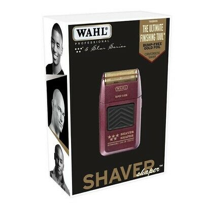 WAHL 5-Star Shaver / Shaper Cord / Cordless Bump Free Shaver 8061