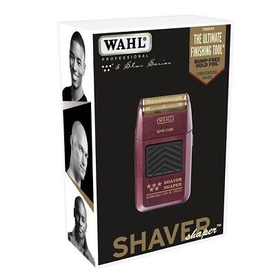 WAHL 5-Star Shaver / Shaper Cord / Cordless Bump Free Shaver
