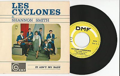 "LES CYCLONES & Shannon Smith ""It ain´t me Baby""  7"" Single EP 196? DMF - B.DYLAN"